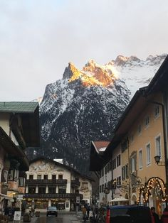 Mittenwald in Bavaria, Germany