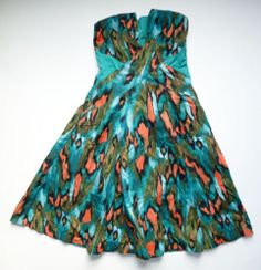 Anthropologie EUC Painted Ikat Dress by Girls from Savoy - SZ 4