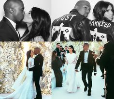 Kanye Gets Married in a Tuxedo and Black Bow Tie