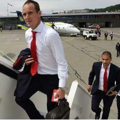 Swiss Football Team ⚽ Steve Von Bergen and Gokhan Inler ♡