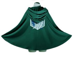 Cloak Cape Cosplay Costume Fantasia Attack on Titan