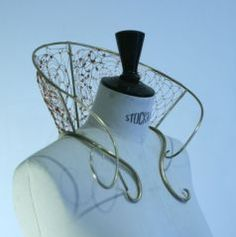 Not millinery, but could potentially utilize wireframe construction techniques: Marie Niel (Fr) – « les fées Minines »
