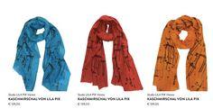 Neu eingetroffen: Wunderschöne handbedruckte Kaschmirschals von Lili Ploskova ! <3 http://ift.tt/2gVEoG7