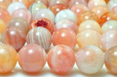 """3MM CRAZY LACE AGATE GEMSTONE YELLOW BROWN CREAM ROUND 3MM LOOSE BEADS 16/"""""""