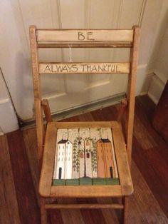 BE Thankful Chair http://media-cache-ec0.pinimg.com/originals/33/87/8a/33878ac41fd4d2bc00ad1e388350658a.jpg