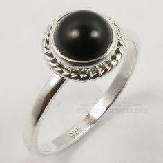 Black Onyx Ring, Black Diamond, Silver Jewellery Indian, Diamond Engagement Rings, Sterling Silver Jewelry, Gemstone Rings, Jewels, Gemstones, Stuff To Buy