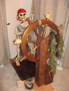 Re-imagineering the skeletal helmsman - Blogs - Halloween Forum