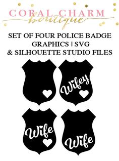 Police badge silhouette clip art. Download free versions