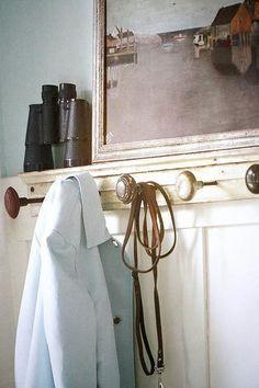 Make your own with antique-style door knobs:  http://www.houseofantiquehardware.com/antique-door-knobs