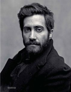 Jake Gyllenhaal by Mark Seliger for GQ Style Germany Gq Style, Hair Style, Mark Seliger, Foto Portrait, Quiff Hairstyles, Actrices Hollywood, Celebrity Portraits, Black And White Portraits, Actors