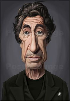 Poster Al Pacino  art | decor | wall art | inspiration | caricature | home decor | ideas | gift