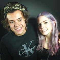 Harry and Gemma at Lou's book launch