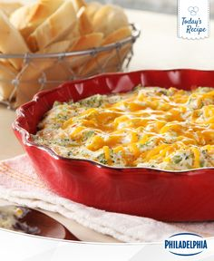 Everything is better with cheese, but you already know that. Take your regular broccoli side dishes to flavour town with a generous dose of cheddar. This Hot Broccoli Cheese Dip is officially pronounced a-maze-ing.