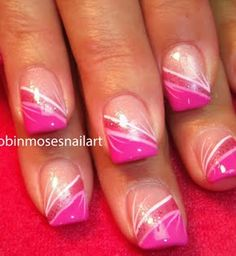 Simple Pink Stripes