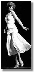 Diana dancing - oddly enough, the one time we saw her in person was in a London disco, and she was - dancing.