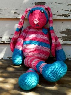 cute crochet bunny