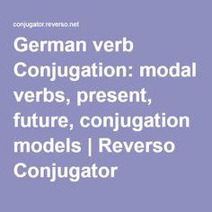 how to say verb tense in german