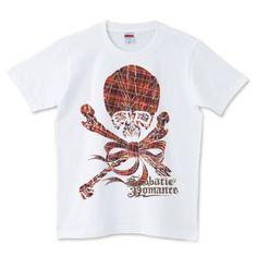 Skull Red   デザインTシャツ通販 T-SHIRTS TRINITY(Tシャツトリニティ)