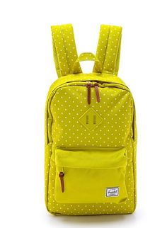 Dreading the gym? Put a pep in your step with this happy-colored Herschel Supply Co. Heritage Mid Volume Backpack ($55). The easy-clean nylon backpack can also fit a 13-inch laptop if you're going to or from work.