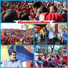 """@HogarDeLaPatria : Hugo Chávez:""""No puede haber Revolución sin la participación de las mujeres de la Patria #LaRevoluciónEsMujer"""