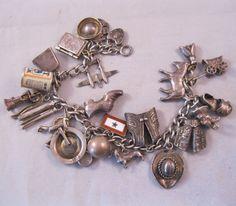 Echtschmuck Beautiful Estate Nv Designer Groß Statement Tulpe Armband In Sterlingsilber