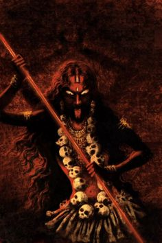 Kali. Divine Mother, female principle.She destroys only to recreate.. - Funny - I have a thing for Kali.