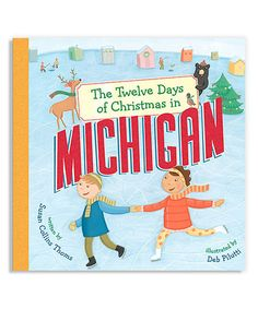 Look what I found on #zulily! The Twelve Days of Christmas in Michigan Hardcover #zulilyfinds