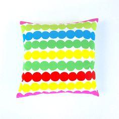 Marimekko Pillow Cover. Scandinavian Geometric by OnHighat5