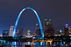 Corporate Housing St Louis | The Best Corporate Housing Apartments & Extended Stay Rentals in St Louis St Louis Gateway Arch, Saint Louis Arch, St Louis Skyline, Plaza Hotel, Tourist Places, Modern Photography, Stay The Night, Stretched Canvas Prints, Illuminati