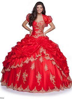Mulan Disney Princess-Inspired Quinceanera Dresses