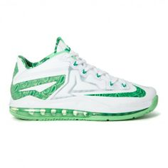 Nike Lebron Xi Low Easter Pack 642849-100 Sneakers — Basketball Shoes at CrookedTongues.com