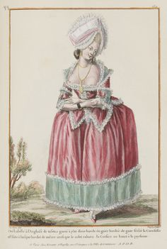 with an extremely low bodice.  EKDuncan - My Fanciful Muse: 1783-1787 French Fashion Plates