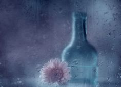 The blue bottle by Delphine. D on 500px