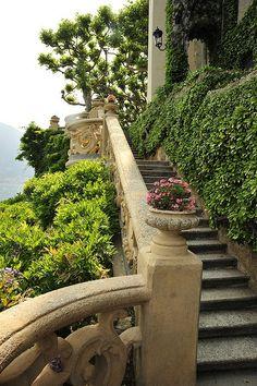 On the Amalfi coast.