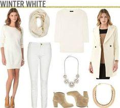 wearing white in winter - Google Search