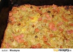 Bramborák do trouby recept - TopRecepty.cz No Cook Meals, Mashed Potatoes, Macaroni And Cheese, Treats, Cooking, Ethnic Recipes, Food, Whipped Potatoes, Sweet Like Candy