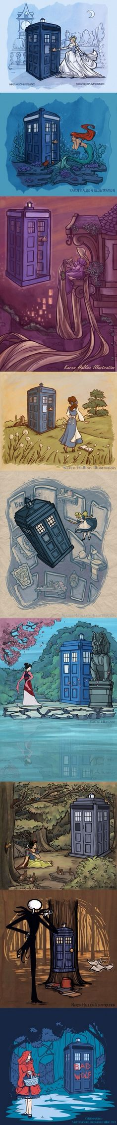 Disney fairy tales plus the Doctor