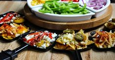 A Glug of Oil : More Raclette Dinner Party Recipe Ideas - Nachos, Egg, Pizza