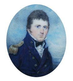 Unknown Artist, Portrait of Captain Francis Austen (1796)  Courtesy of Jane Austen's House Museu...