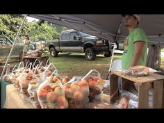 Georgia has tremendous diversity in the types of food crops grown across the state.  That diversity is on display at the many local farmers markets around the state.  The Monitor's Kenny Burgamy has the story.