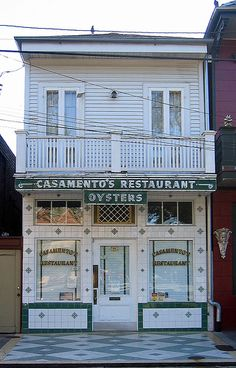 Casemento's, New Orleans. My favorite oysters in New Orleans!