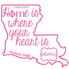 love this for an alumna chapter shirt with the quatrefoil up in north LA instead of south LA