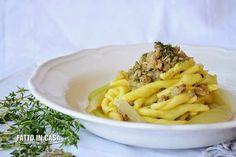 Ragu' di Salsiccia con Crema di Finocchi e Semi di Finocchietto