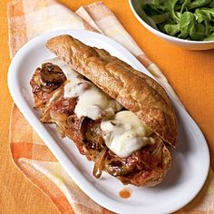 Sausage-Fennel Subs | MyRecipes.com