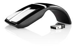 #Optische Mini-Funkmaus 2,4 GHz mit Touch-Scrollfeld