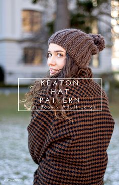 NEW PATTERN || KEATON HAT PATTERN!!