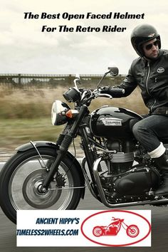 My 5 best open faced helmets for the retro motorcycle rider Retro Motorcycle Helmets, Retro Helmet, New Helmet, Triumph Bobber, Biker Gear, Checkered Flag, Sport Bikes, Motogp, Modern Classic