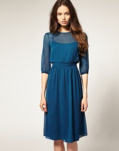 Love this...I wonder if it only looks good on pencil thin girls like the one pictured?  $38.00