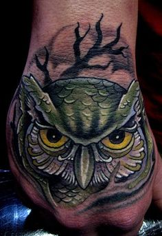 23 Best Tree And Owl Tattoos New School Images Owl Tattoos Tatoo
