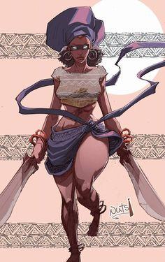 Art by Stanley Obende.